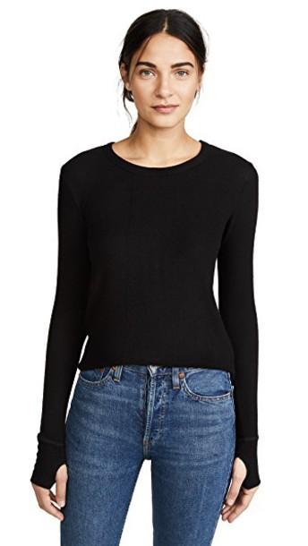 FEEL THE PIECE sweater black