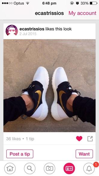 shoes nike nike roshe run running shoes