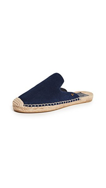 Tory Burch navy shoes