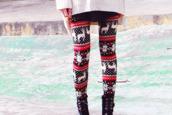 pants,leggings,christmas,bleu red white,christmas leggings