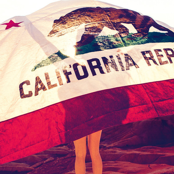 california jewels flag
