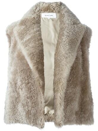 vest grey jacket