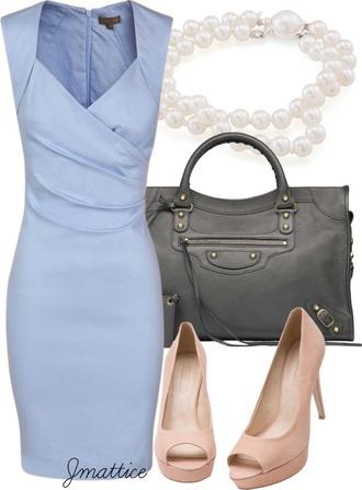 dress blue dress pinterest