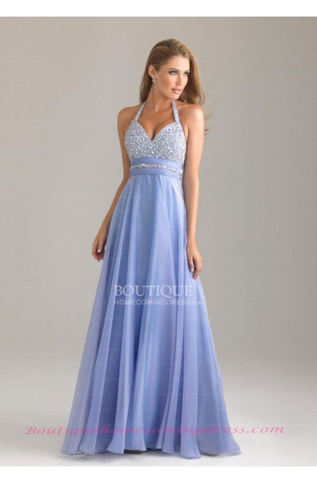 Beading/sequins chiffon 2015 prom dress