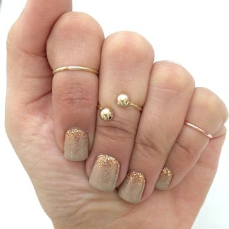 jewels stackable rings stacked rings knuckle ring the little finger ring rings for women womens rings middle thick stacking rings iddle ring the middle