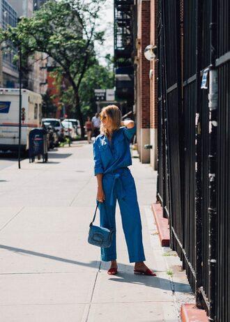 the fashion guitar blogger top pants sunglasses bag jewels