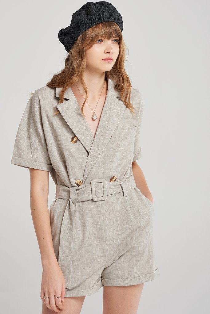 Amie Trench Rompers
