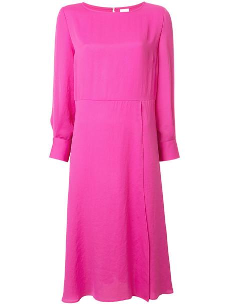 Cityshop dress shirt dress t-shirt dress women purple pink