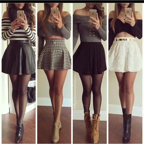 skirt crop tops shoes top underwear