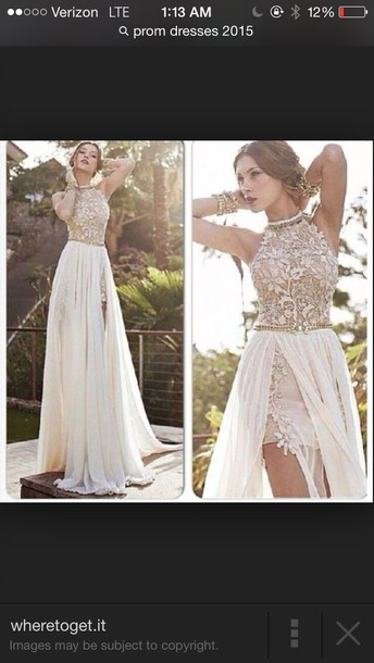 Creme-Colored Prom Dresses - Prom Dresses 2018