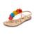 Sam Edelman Gates Fringe Sandals - Summer Sand