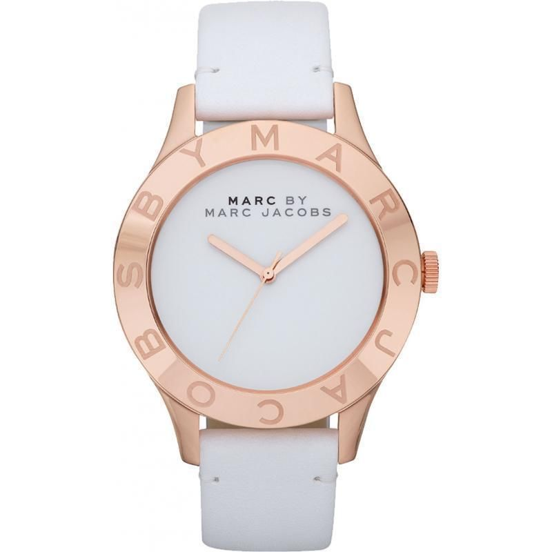 New Marc by Marc Jacobs MBM1201 Blade White Dial Ladies Watch in Original Box | eBay