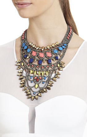 Boho Tribal Statement Necklace | BCBG