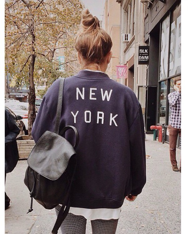 jacket navy brandy melville style swag fashion tumblr outfit cute fall outfits girly comfy sweater