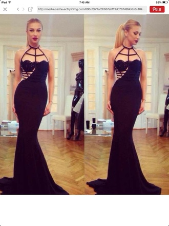 little black dress long dress prom