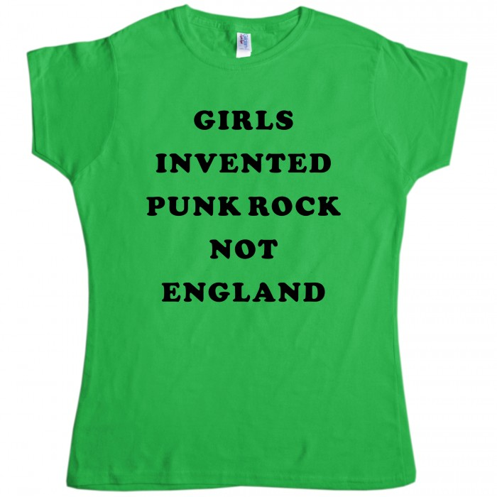 As Worn By Sonic Youth t shirt - Girls Invented Punk Rock | Slogan T-Shirts | Funny, Slogan & Geek | T Shirts | Womens