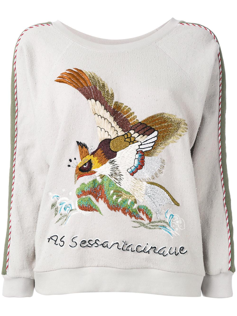 Пуловер С Вышивкой Доставка