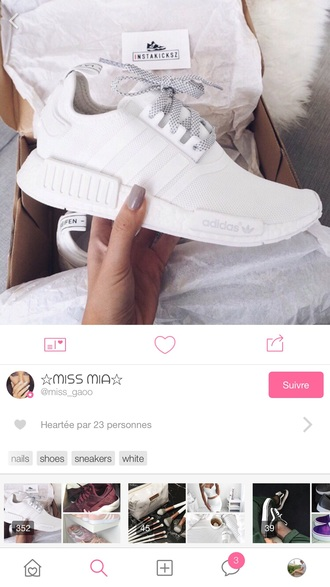 shoes white