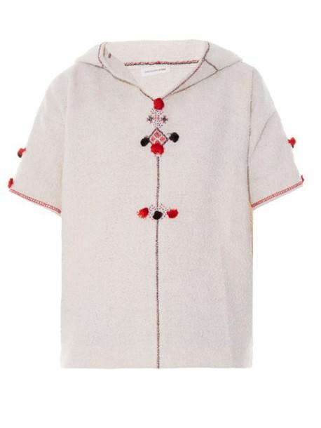 Isabel Marant etoile top embellished top embellished cream