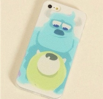 disney bag iphone 5 case monsters inc monsters university sully mike wazowski hybrid