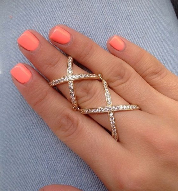jewels criss cross ring diamonds double cross ring jewelry rings and tings gold ring bling crystal x ring