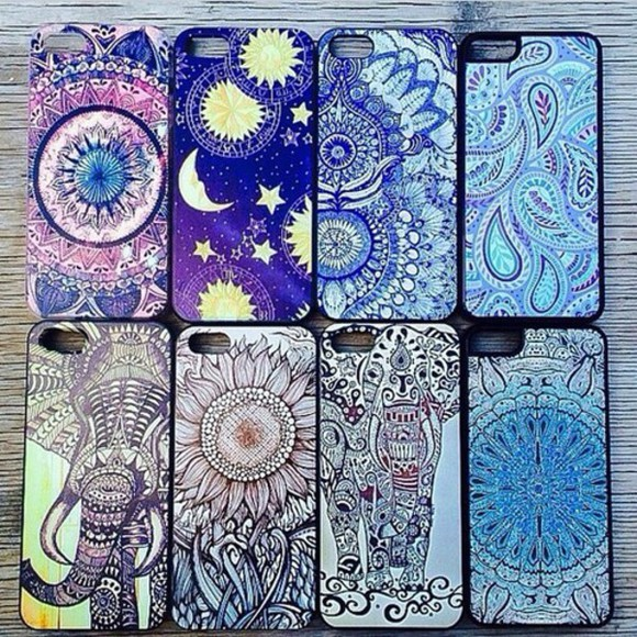 boho iphone case phone case colorful