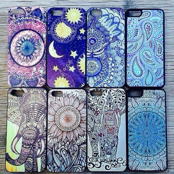 phone cover iphone case phone cover iphone bohemian boho colorful