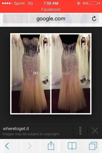 dress 2015 ssj sparkling crystal l promm dress  sweer mermaid prom dress