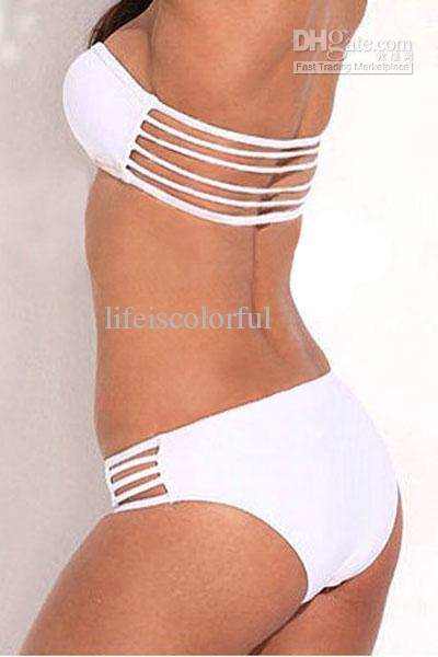 Out bikini swimsuit beach swimwear set green lc40493 online with $25.68/piece