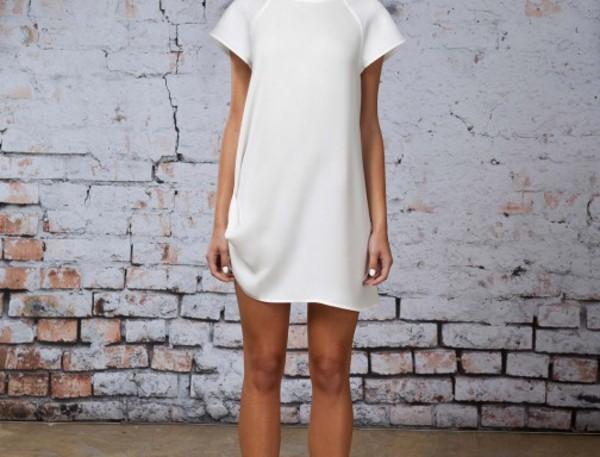 dress white white dress indie cute dress