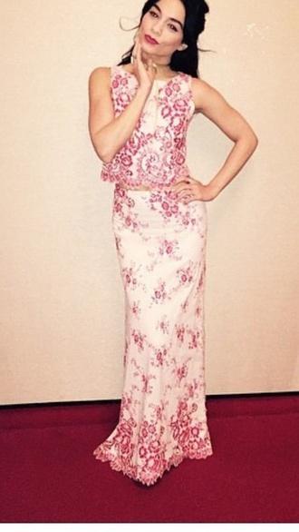 dress vanessa hudgens floral dress