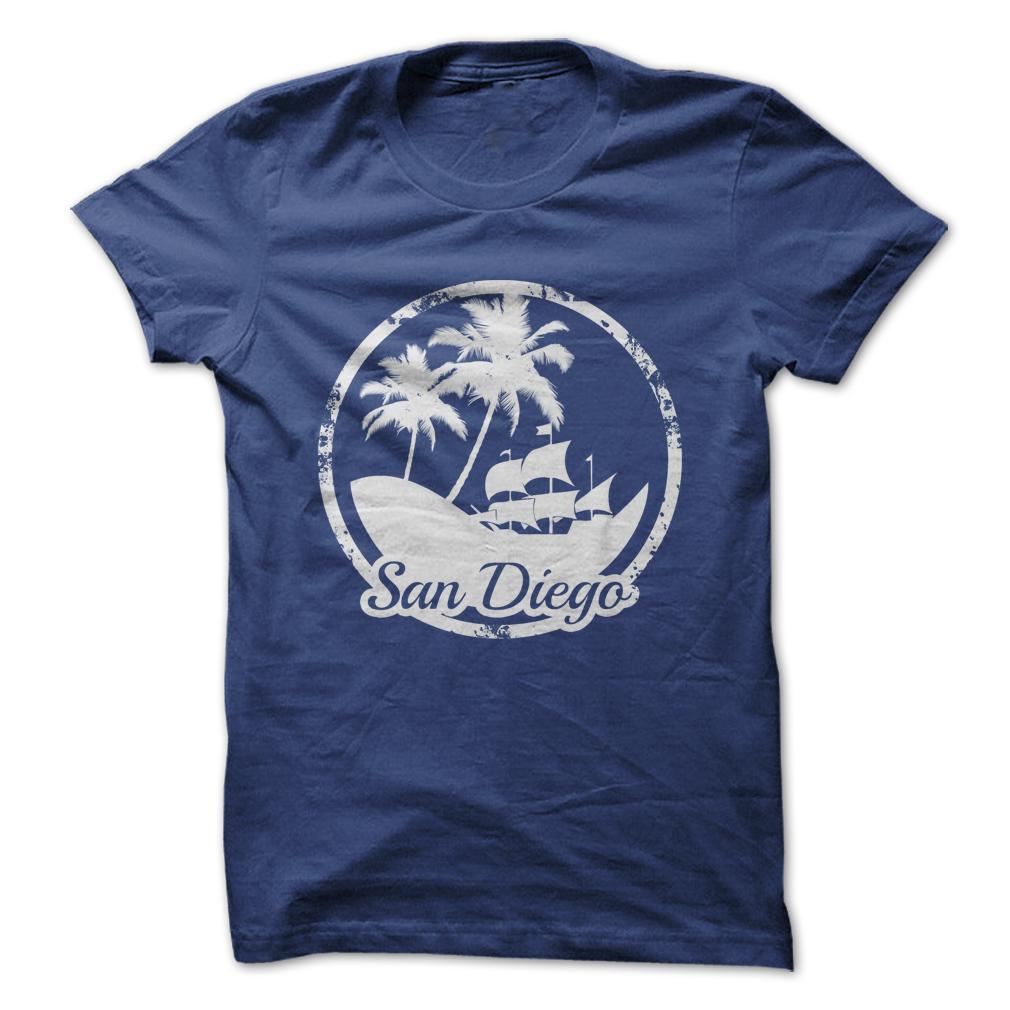 Beach San Diego T-Shirt & Hoodie