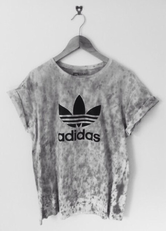 t-shirt pink purple adidas tie dye black and pink pink and purple shirt rolled sleeves short sleeve addidas shirt tie dye shirt tumblr shirt pink shirt top adidas shirt grey white blouse grey t-shirt graphic tee fashion addict teenagers adidas originals fashion style instagram black