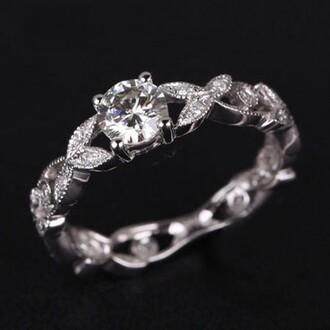 jewels evolees high quality silver engagement ring evolees.com