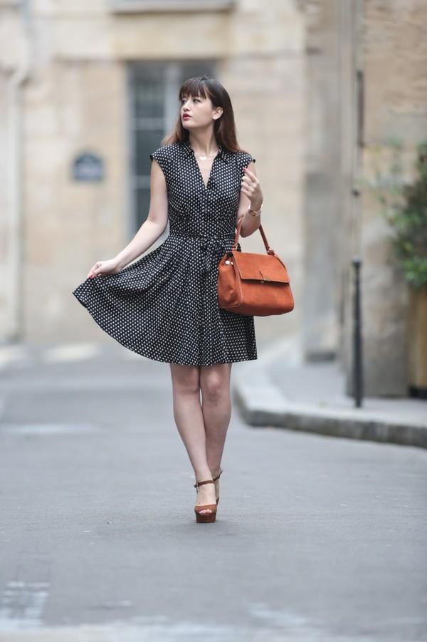 meet me in paree blogger dress shoes jacket bag