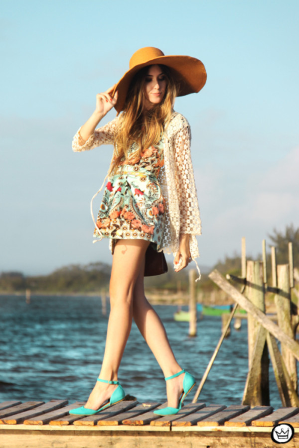 fashion coolture dress sweater hat