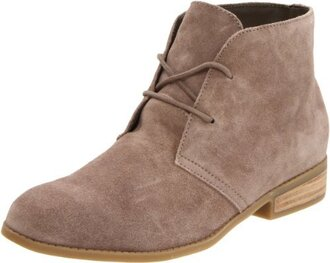 bag shoes taupe desert boots suede steve madden lace up
