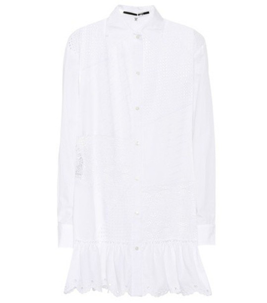 McQ Alexander McQueen dress cotton white