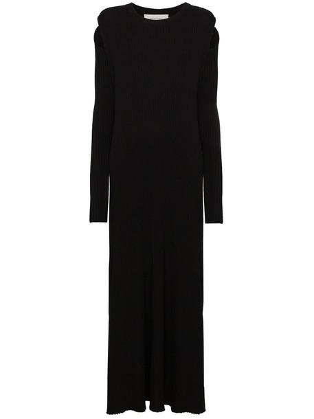 MARQUES'ALMEIDA dress maxi dress maxi women black