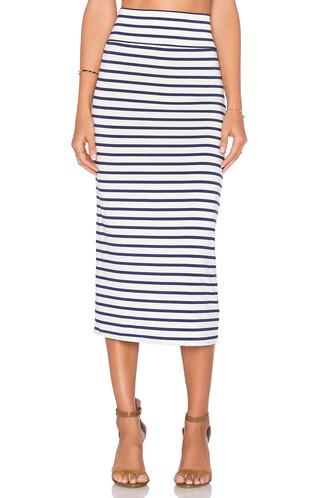skirt high waisted high white
