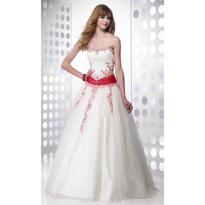 Diamond white dress.
