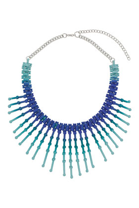 Multi-coloured Stick Necklace - Necklaces - Jewelry  - Bags & Accessories - Topshop USA