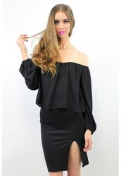top,divergence clothing,gypsy,boho,black shirt,off the shoulder top,off the shoulder,hipster,coachella