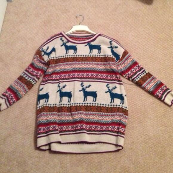 deer christmas sweater