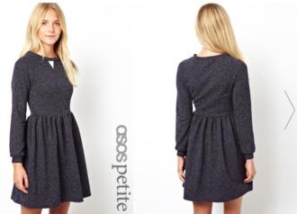 sweat sweatshirt skaterdress sweater dress dress