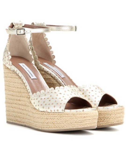 tabitha simmons sandals leather sandals leather gold shoes
