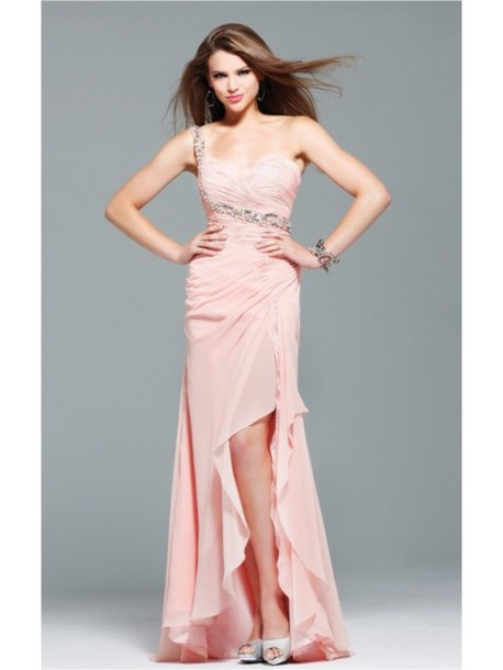 dress missydressau dress fashion graduation dresses prom dress high-low dresses beaded charming design faviana