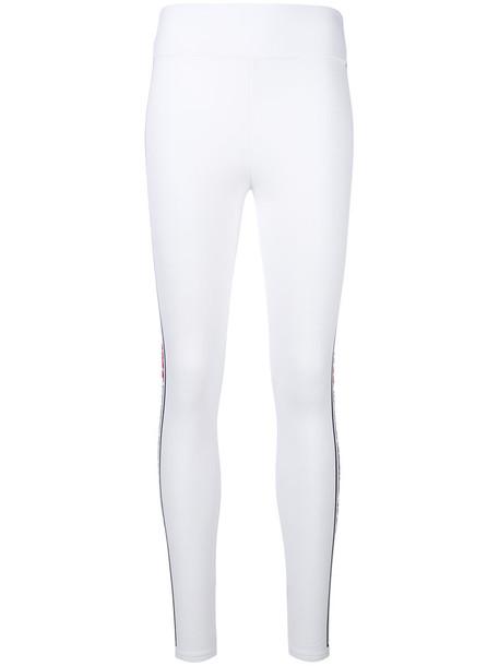 Fendi leggings women spandex white pants