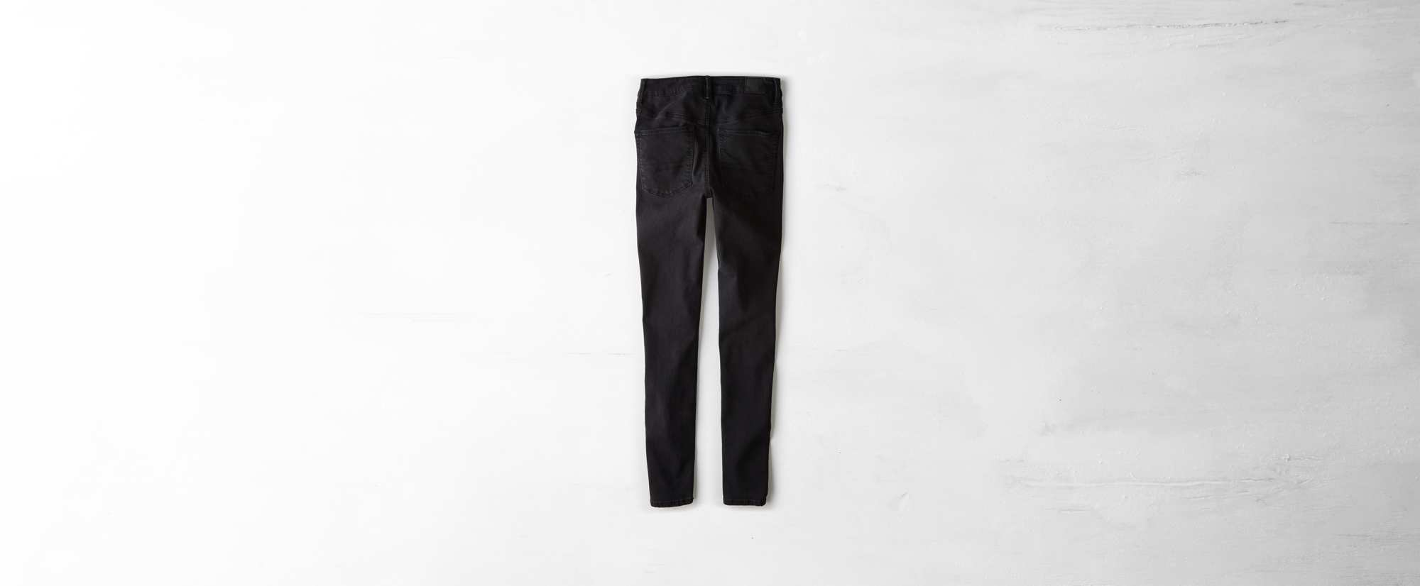 Sky High Jegging, Washed Black | American Eagle Outfitters