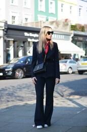 camila carril,blogger,jacket,scarf,sunglasses,bag,shoes,zanita